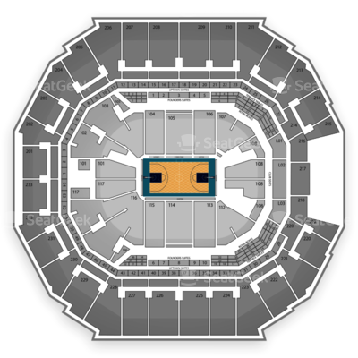 Time Warner Cable Arena seating chart Charlotte Hornets