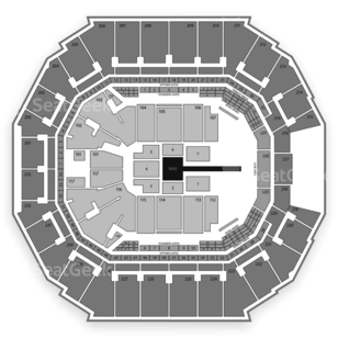 Time Warner Cable Arena Seating Chart Wrestling
