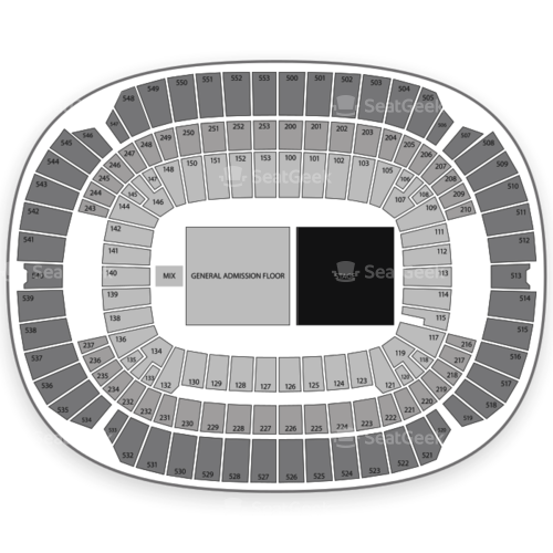 M&T Bank Stadium Seating Chart Concert
