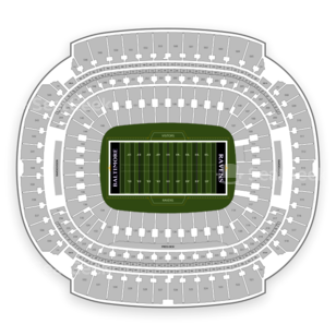 M&T Bank Stadium Seating Chart NCAA Football