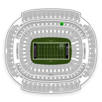 Baltimore Ravens at M&T Bank Stadium Section 202 View