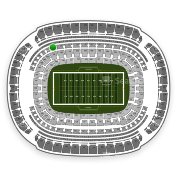 Baltimore Ravens at M&T Bank Stadium Section 249 View