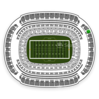 NFL at M&T Bank Stadium Section 509 View