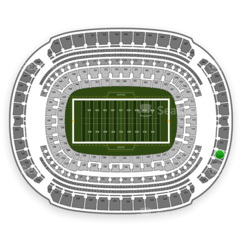 NFL at M&T Bank Stadium Section 516 View