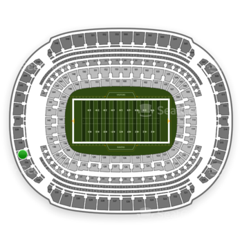 NFL at M&T Bank Stadium Section 537 View
