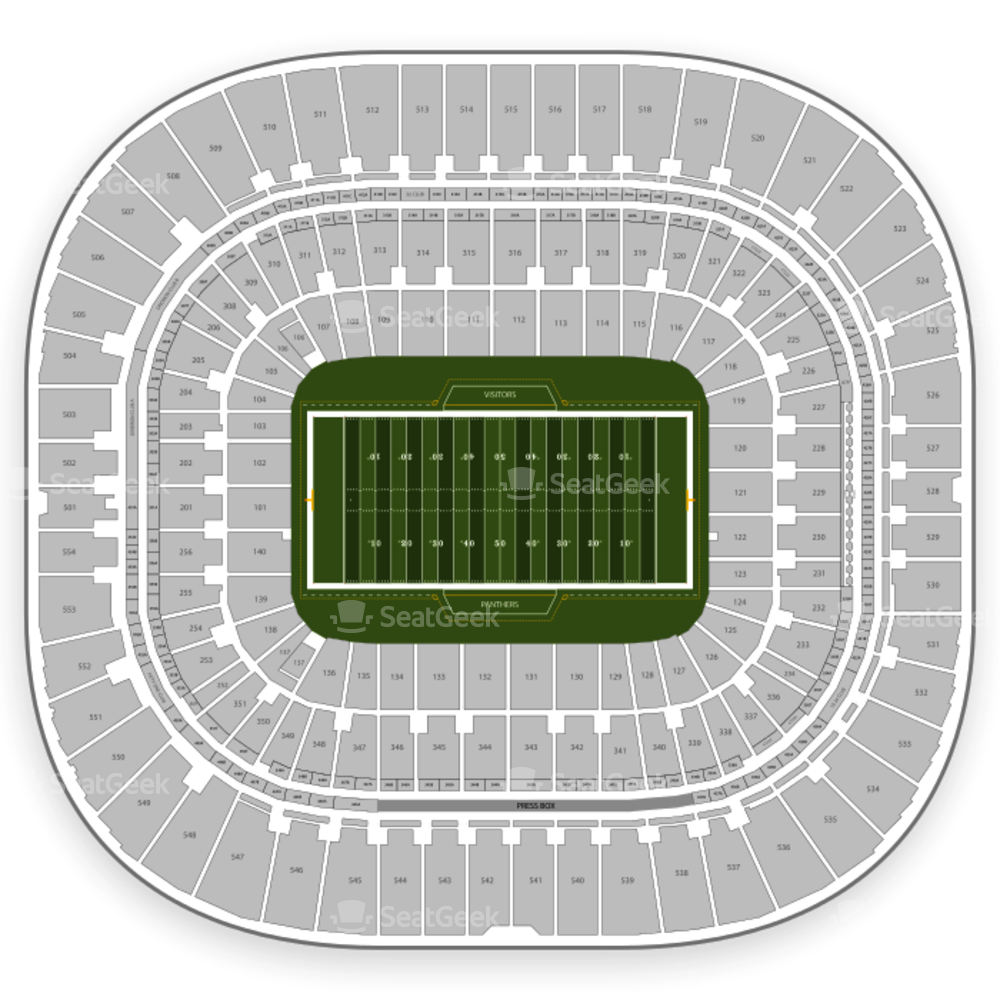 Carolina Panthers Seating Chart