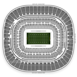 ACC Football Championship Seating Chart