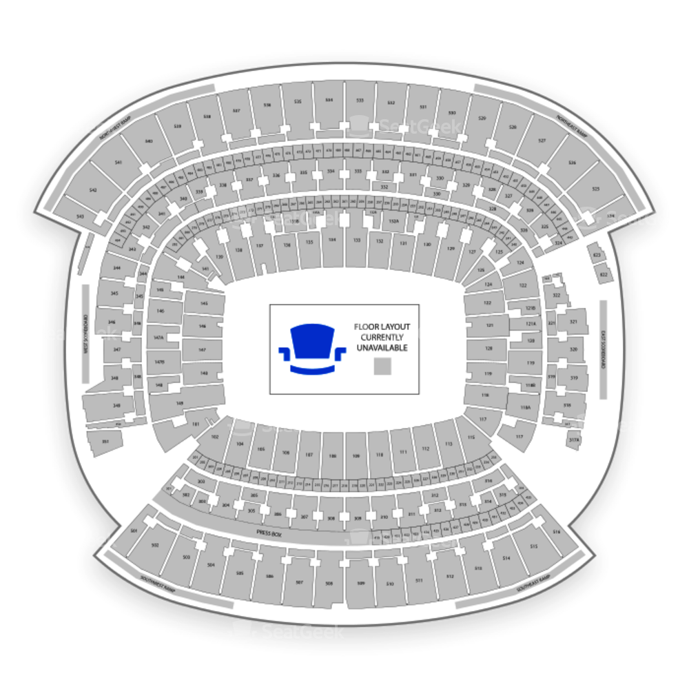FirstEnergy Stadium Seating Chart Concert