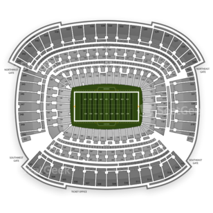 Cleveland Browns Seating Chart