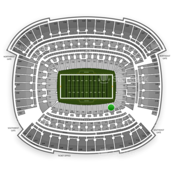 Cleveland Browns at FirstEnergy Stadium Section 113 View