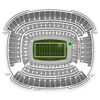Cleveland Browns at FirstEnergy Stadium Section 122 View