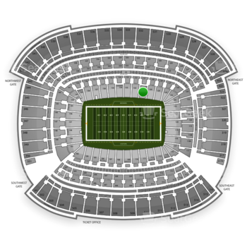 Cleveland Browns at FirstEnergy Stadium Section 131 View