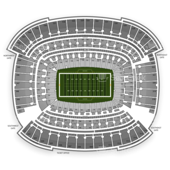 Cleveland Browns at FirstEnergy Stadium Section 150 View