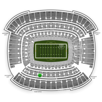 Cleveland Browns at FirstEnergy Stadium Section 306 View