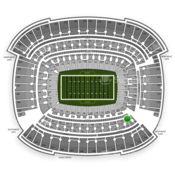 Cleveland Browns at FirstEnergy Stadium Section 314 View
