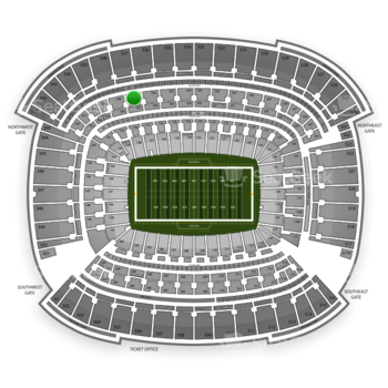Cleveland Browns at FirstEnergy Stadium Section 337 View