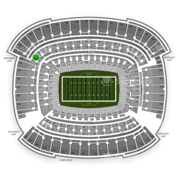Cleveland Browns at FirstEnergy Stadium Section 342 View