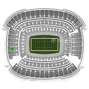 Cleveland Browns at FirstEnergy Stadium Section 348 View
