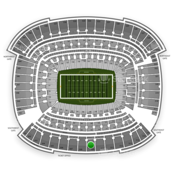 Cleveland Browns at FirstEnergy Stadium Section 509 View