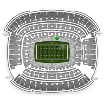 Cleveland Browns at FirstEnergy Stadium Section 132 View