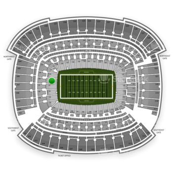 Cleveland Browns at FirstEnergy Stadium Section 146 View