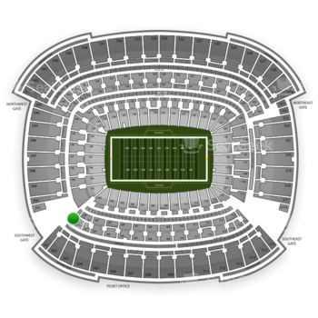 Cleveland Browns at FirstEnergy Stadium Section 301 View