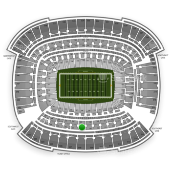 Cleveland Browns at FirstEnergy Stadium Section 308 View