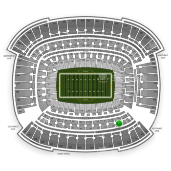 Cleveland Browns at FirstEnergy Stadium Section 313 View