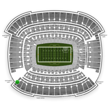 Cleveland Browns at FirstEnergy Stadium Section 501 View