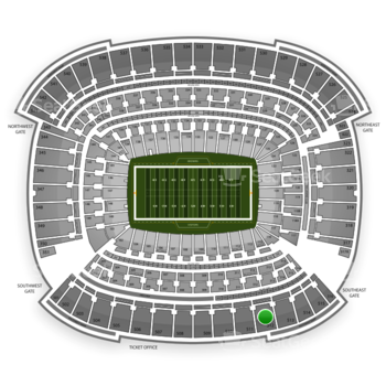 Cleveland Browns at FirstEnergy Stadium Section 512 View