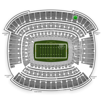 Cleveland Browns at FirstEnergy Stadium Section 529 View