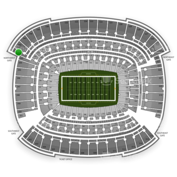Cleveland Browns at FirstEnergy Stadium Section 543 View