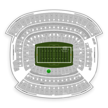 Cleveland Browns at FirstEnergy Stadium Section 107 View