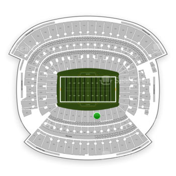 Cleveland Browns at FirstEnergy Stadium Section 110 View