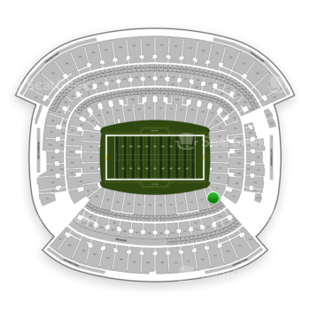 Cleveland Browns at FirstEnergy Stadium Section 115 View