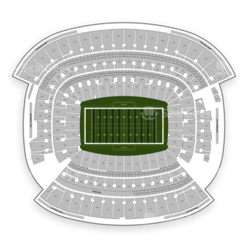 Cleveland Browns at FirstEnergy Stadium Section 116 View