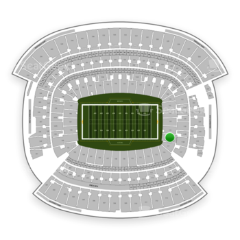 Cleveland Browns at FirstEnergy Stadium Section 118 View