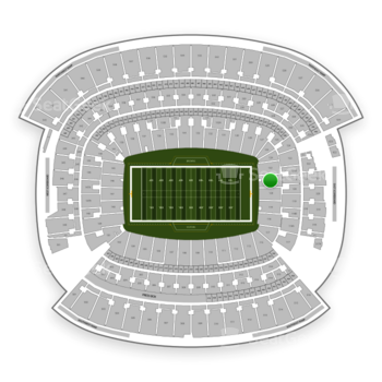 Cleveland Browns at FirstEnergy Stadium Section 121 View