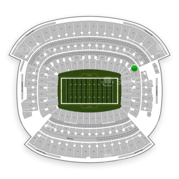 Cleveland Browns at FirstEnergy Stadium Section 124 View