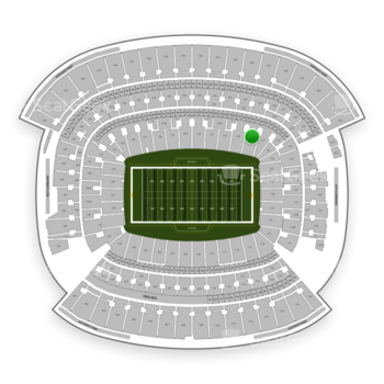 Cleveland Browns at FirstEnergy Stadium Section 129 View