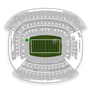 Cleveland Browns at FirstEnergy Stadium Section 145 View