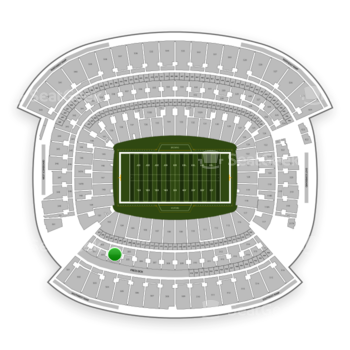 Cleveland Browns at FirstEnergy Stadium Section 304 View