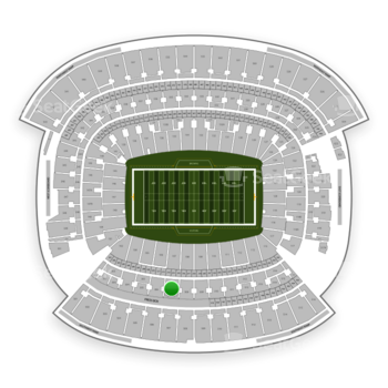 Cleveland Browns at FirstEnergy Stadium Section 307 View