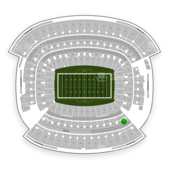 Cleveland Browns at FirstEnergy Stadium Section 315 View