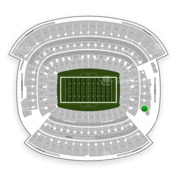 Cleveland Browns at FirstEnergy Stadium Section 317 View