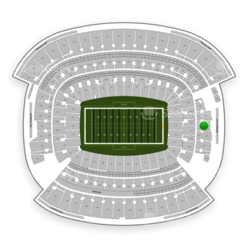 Cleveland Browns at FirstEnergy Stadium Section 320 View