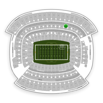 Cleveland Browns at FirstEnergy Stadium Section 330 View