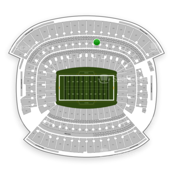 Cleveland Browns at FirstEnergy Stadium Section 332 View