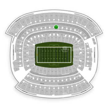 Cleveland Browns at FirstEnergy Stadium Section 333 View