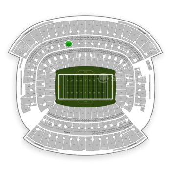 Cleveland Browns at FirstEnergy Stadium Section 336 View